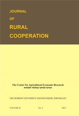 >Journal of Rural Cooperation